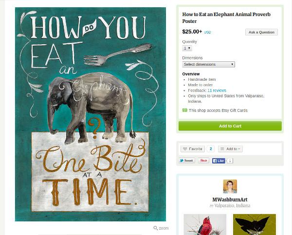 Kako pojesti slona?